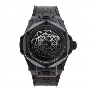 The Best Fake Watch Hublot Big Bang Sang Bleu All Black Limited Edition 415.Cx.1114.Vr.Mxm17