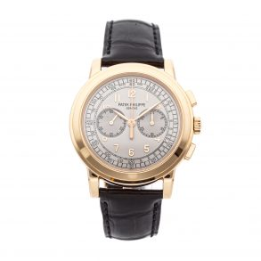 Men Round Replica Patek Philippe Complications Chronograph 5070r-001 Rose Gold
