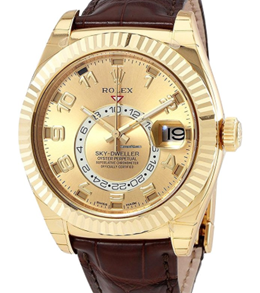 Rolex 326138 Yellow Gold Automatic Movement Watch