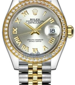 Rolex m279383rbr-0006 Stainless Steel & Yellow Gold Automatic Movement Watch