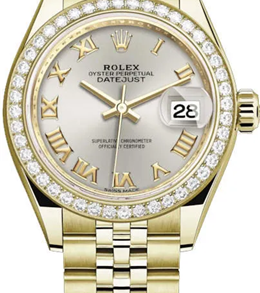 Rolex M279138rbr-0018 18 Ct Yellow Gold Automatic Movement Watch