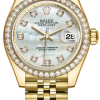 Rolex M279138rbr-0016 18 Ct Yellow Gold Automatic Movement Watch