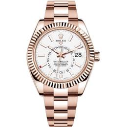 Rolex m326935-0005 Rose Gold Automatic Movement Watch