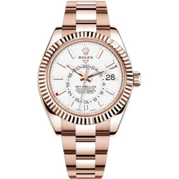 Rolex m326935-0005 Rose Gold Automatic Movement Watch