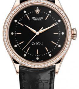 Rolex m50705rbr-0014 18kt Everose Gold Automatic Movement Watch