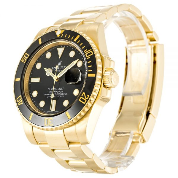 Rolex Submariner 116618 LN Mens Black Baton Automatic 40 MM Watch