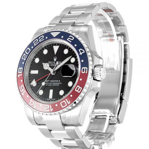Rolex GMT Master II 116719 Mens 40 MM Black Automatic Steel Watch