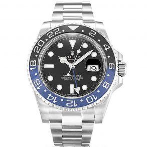 Rolex GMT Master II 116710 Black Steel Automatic 40 MM Mens Watch