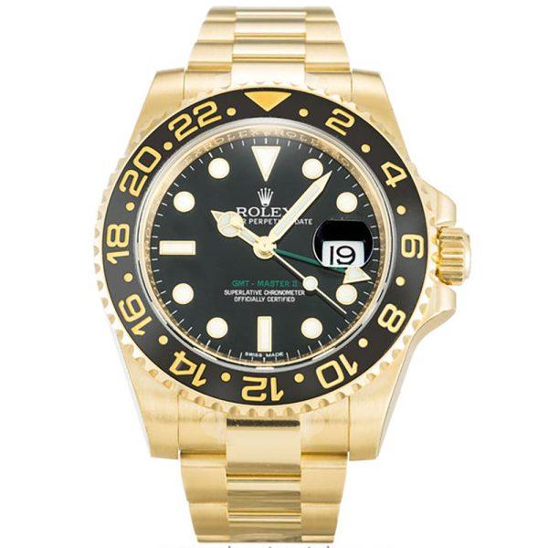 Rolex GMT Master II 116718 Black Steel Automatic 40 MM Mens Watch