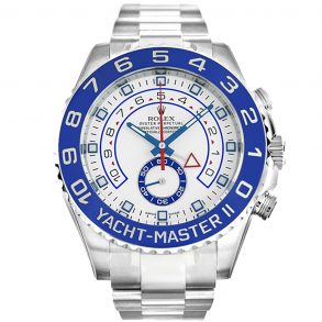 Rolex Yacht-Master 116680 Mens 44 MM White Steel