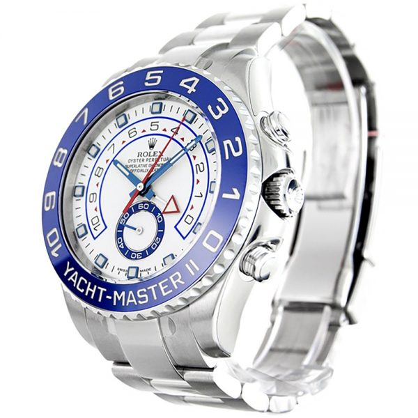 Rolex Yacht-Master 116680 Mens 44 MM White Steel