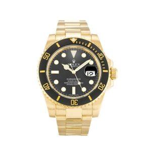 Rolex Submariner 116618 LN Mens Black Baton Automatic 40 MM Watch