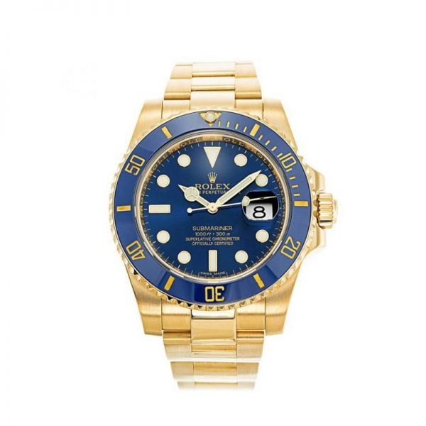 Rolex Submariner 116618LB Mens 40 MM Automatic Blue Watch