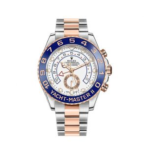 Rolex Yacht-Master 116681 Mens Automatic Watch 44 MM White