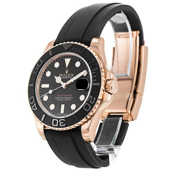Rolex Yacht-Master 268655 Mens 37 MM Black Stainless Steel