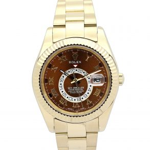 Rolex Sky-Dweller 326938 Mens 42 MM Brown dial Automatic Watch