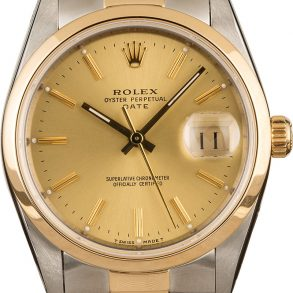 Rolex Date 15203 Men's Case 34mm Automatic 3135