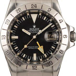 Rolex Explorer Ii 1655 Men's Dial Black Tritium Watch