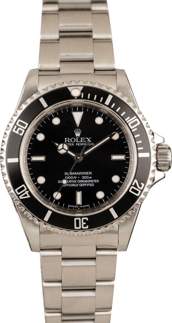 Rolex Submariner 14060 Men's Case 36mm Stainless Steel