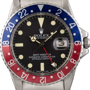 Rolex Gmt-master 1675 Men's Waterproof Stainless Steel