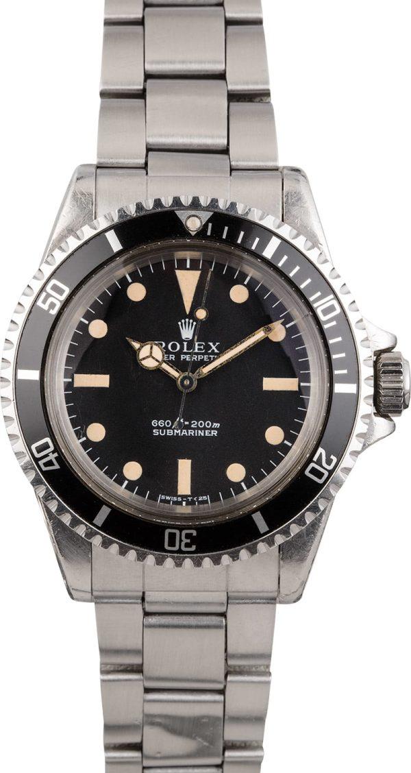 Rolex Submariner 5513 Men's Waterproof Automatic 1520