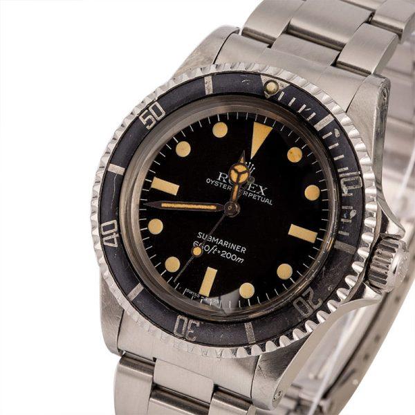 Rolex Submariner 5513 Men's Dial Black Automatic 1520