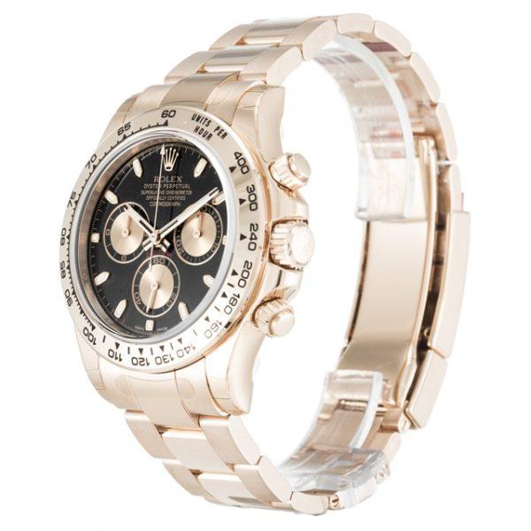 Rolex Daytona 116505 Mens 40 MM Automatic Black Baton Watch