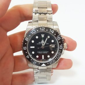 Rolex GMT Master II 116710 Mens Automatic Black 40 MM Steel Watch