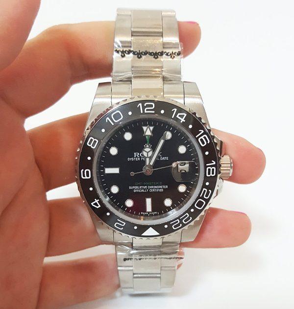 Rolex GMT Master II 116710 Mens Automatic Black 40 MM Steel Watch