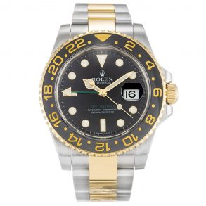 Rolex GMT Master II 116713 Mens Steel Automatic Black 40 MM Watch