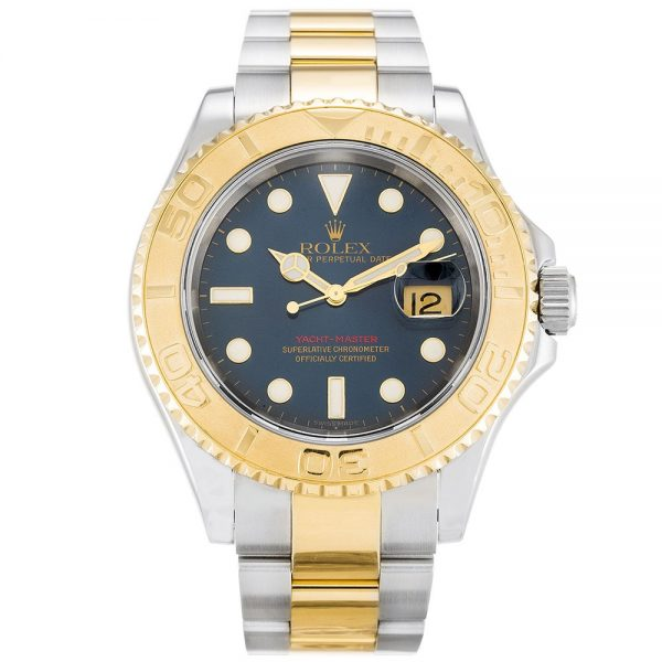 Rolex Yacht-Master 16623 Blue Stainless Steel Automatic Mens 40 MM Watch