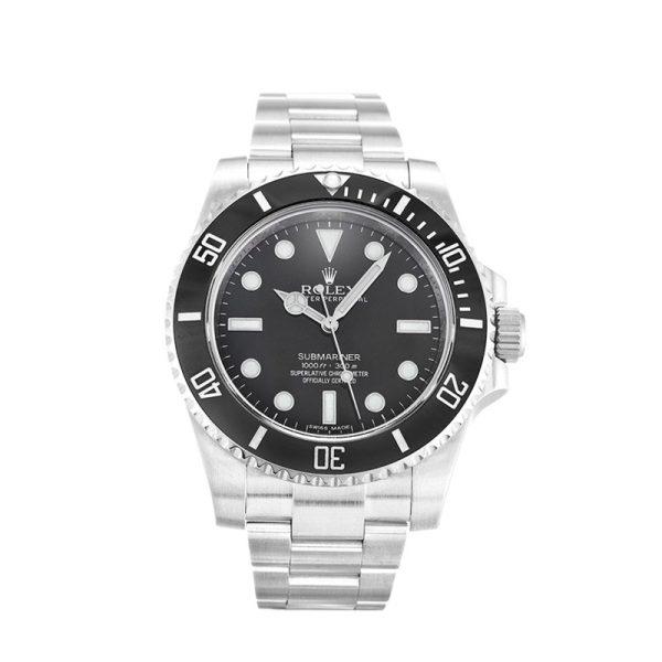 Rolex Submariner 114060 Steel Men's Automatic Black 40 MM Watch