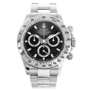 Rolex Daytona 116520 Mens Automatic 40 MM Stainless Steel Watch