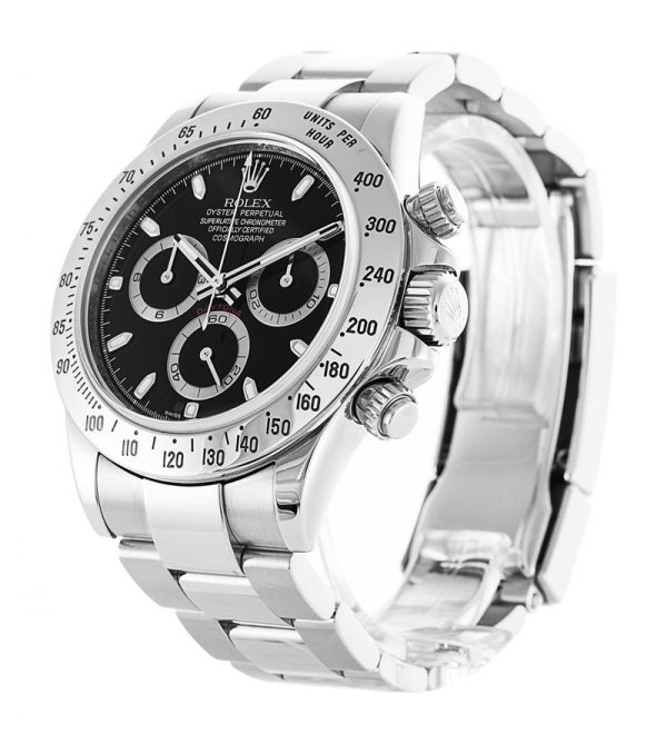 Rolex Daytona 116520 Mens Automatic 40 MM Stainless Steel Watch