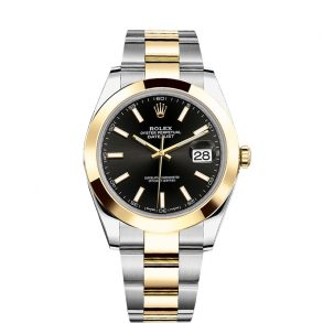 Rolex Datejust 126303 Black 41mm Automatic Stainless Steel watch