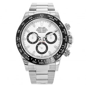 Rolex Daytona 116500LN Mens Steel Automatic White 40 MM Watch