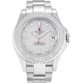 Rolex Yacht-Master 168622 Platinum Steel Automatic Unisex 35 MM Watch