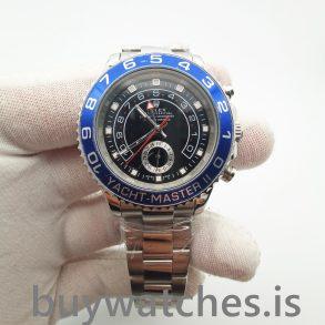 Rolex Yacht-master 116680 Automatic Mens 44 mm Black Steel Watch