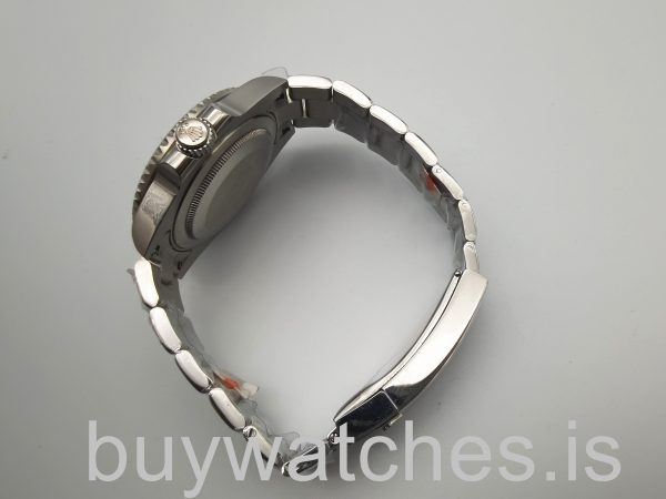Rolex Submariner 116619 40mm White Gold Automatic Men's Blue W Watch