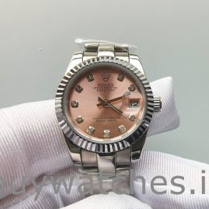 Rolex Datejust 178271 Midsize Steel Eve Gold Diamond Ladies Watch