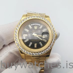 Rolex Day-Date 228348RBR 18k Gold With Diamonds 40 mm Automatic