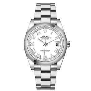 Rolex Datejust 16200 Silver Dial 36 mm Automatic Stainless Steel Watch