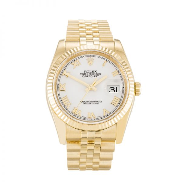 Rolex Datejust 126333 Mens 41 mm Stainless Steel White Automatic watch