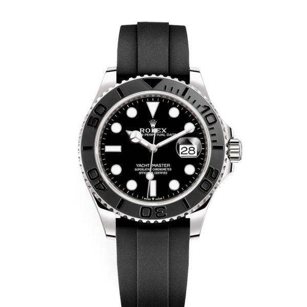 Rolex Yacht-Master 226659 Mens Black 42mm Folding Automatic Watch