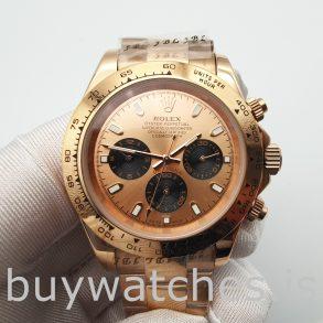 Rolex Daytona 116505 Automatic Everose Gold 40mm Oyster Watch