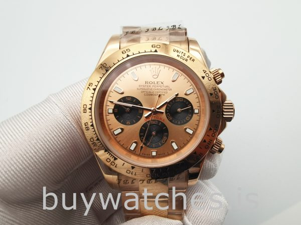 Rolex Daytona 116505 Automatic Everose Gold 40mm Oyster Watch