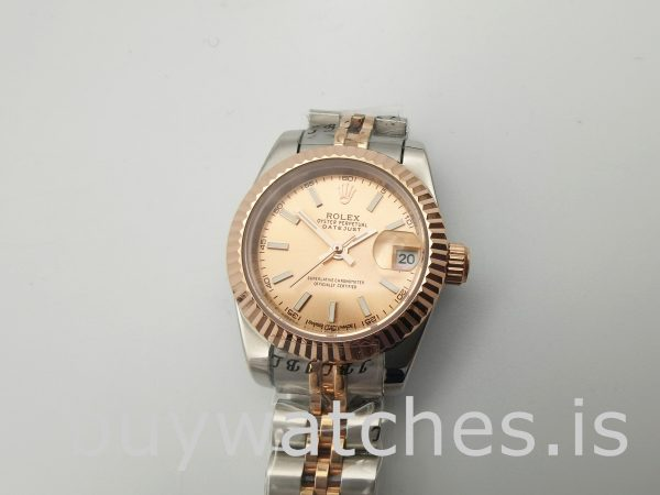 Rolex Datejust 278271 Women 31mm Rose Gold Steel Automatic Watch