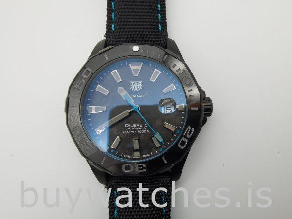 TAG Heuer Aquaracer WBD218C.FC6447 Black Nylon 41mm Automatic Watch