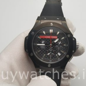 Hublot Big Bang 301.CM.131.RX.LUN06 Rubber 44mm Black Automatic Watch