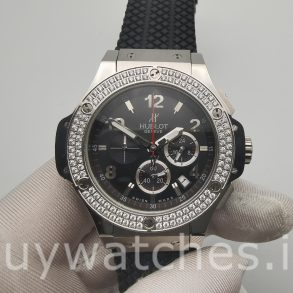 Hublot Big Bang 301.SX.130.RX.114 Black Rubber 44mm Automatic Watch